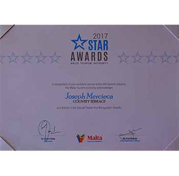 Star Awards Certificates